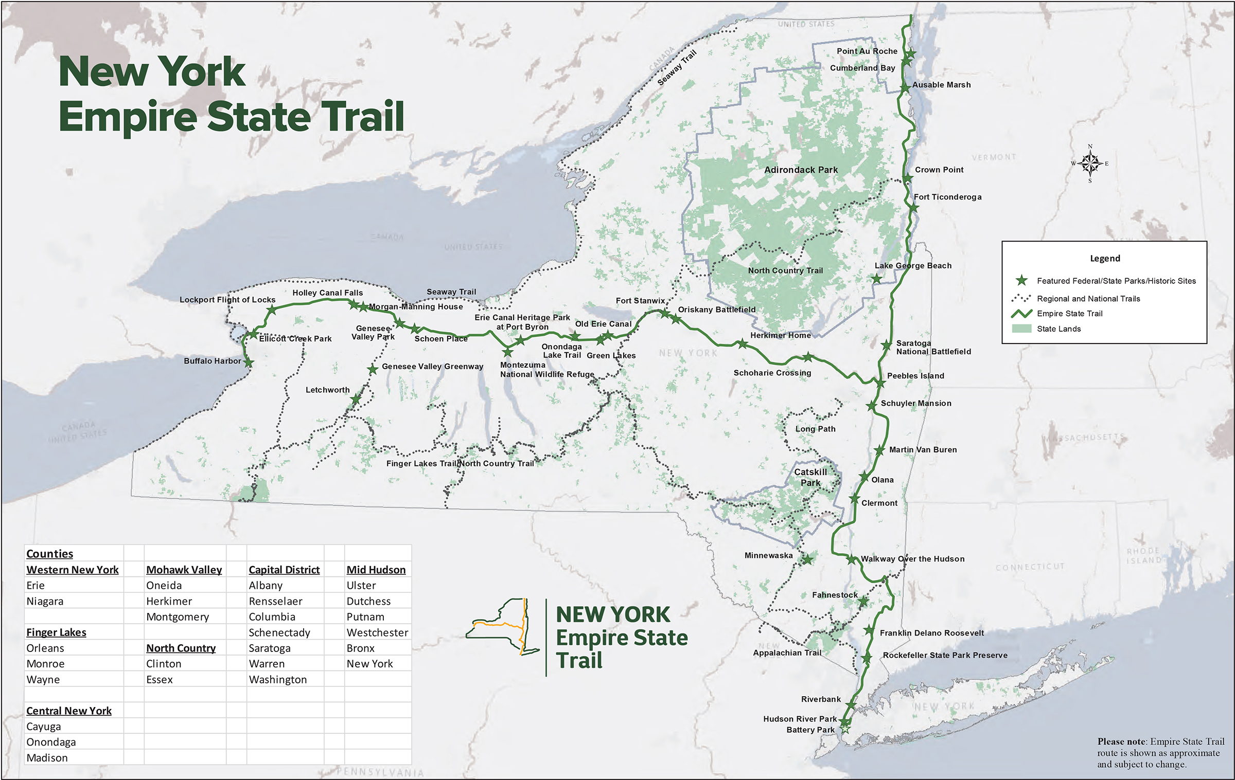 Map Of New York Hudson Valley.Explore Walkway Over The Hudson Best Hudson Valley Destination