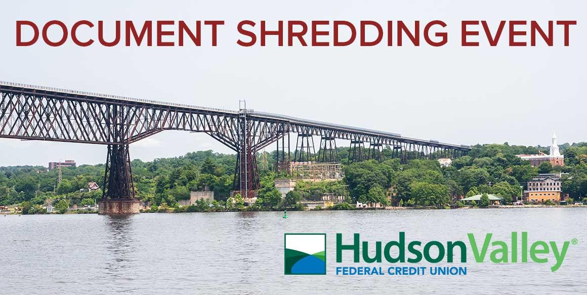 Document Shredding Day | Walkway Over the Hudson