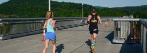 runners on Walkway